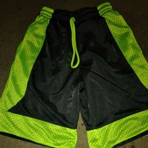Reversible basketball shorts boys
